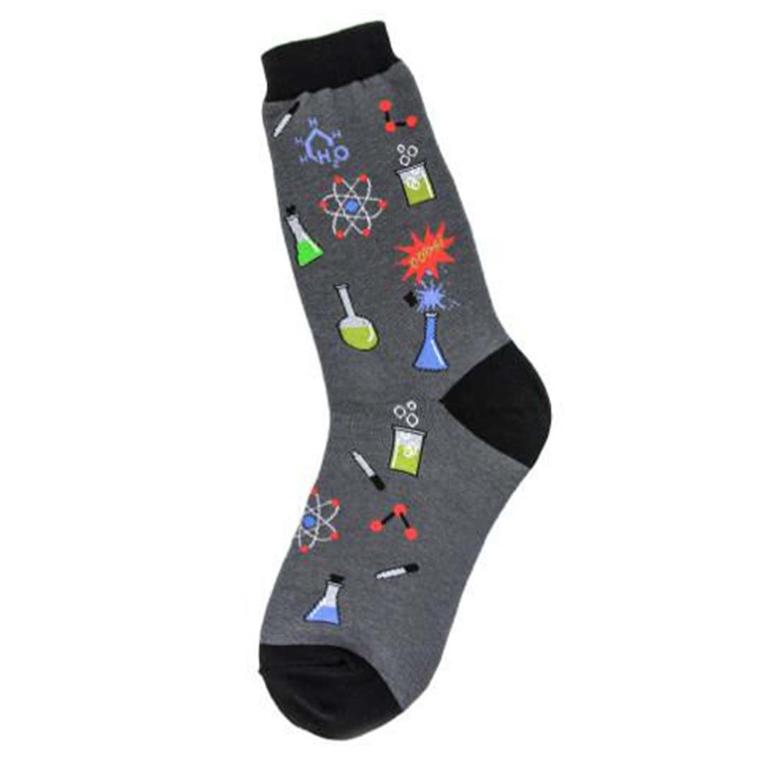 Chemistry Socks Women's Crew Sock gray