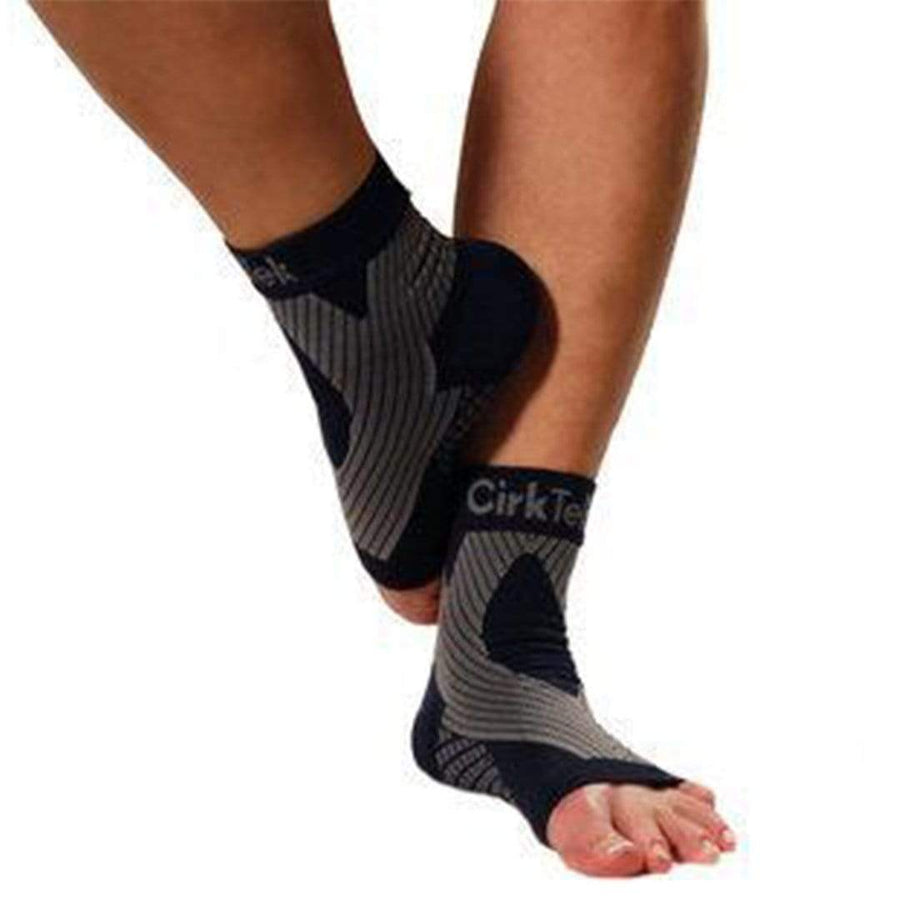 4520e1d47f COMPRESSION FOOT SLEEVE ANKLE SOCKS - BLACK