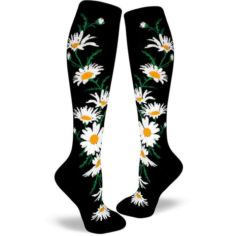 feb8a46727f Crazy for Daisies Socks - Knee High Socks