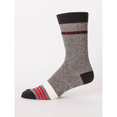 Certified Pain in the Ass Sock Men's Crew Socks gray