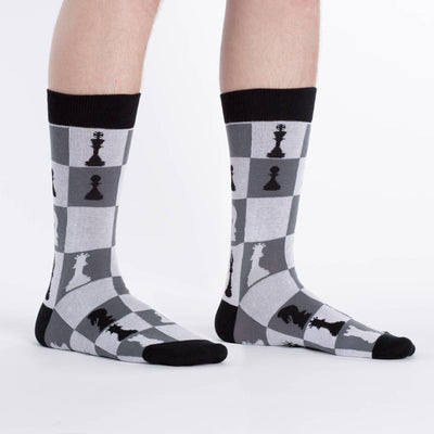 Checkmate Chess Socks - Crew for Men3