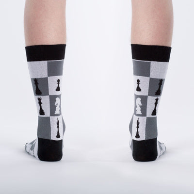 Checkmate Chess Socks - Crew for Men4