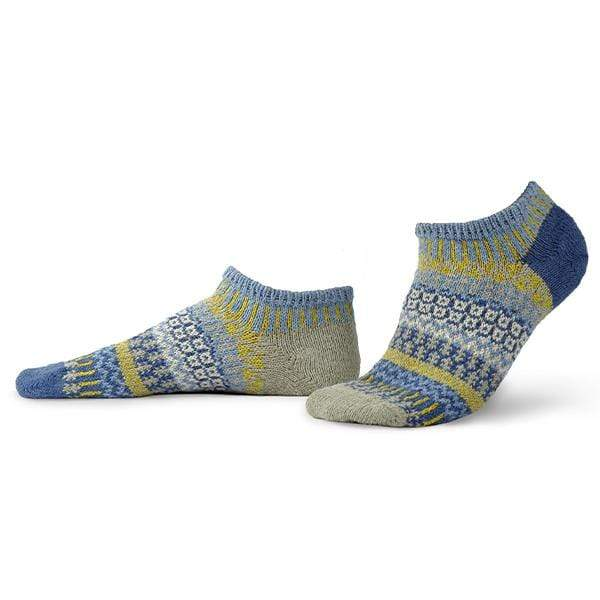 Chicory Ankle Socks Blue / Small