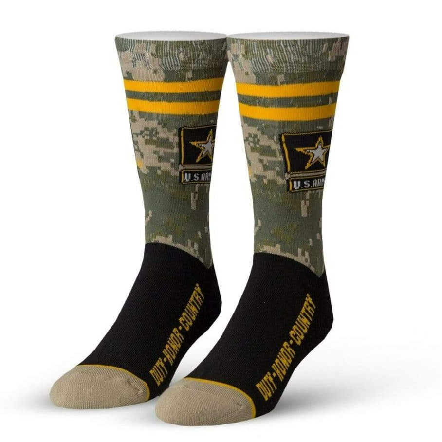 Duty, Honor, Country Crew Sock Men's / Green