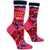 Dear Wine Yes Women's Crew Sock Pink