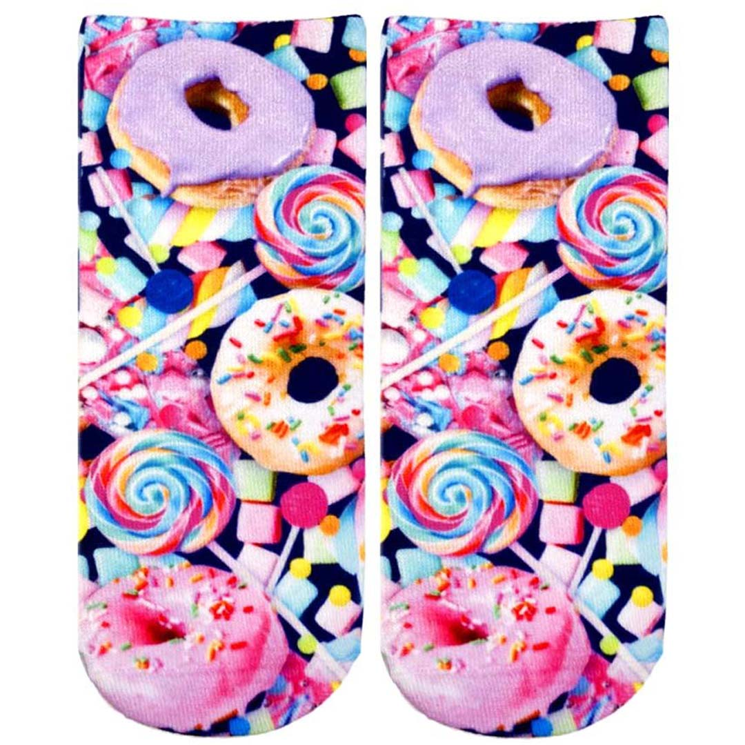 Donut and Candy Ankle Pink