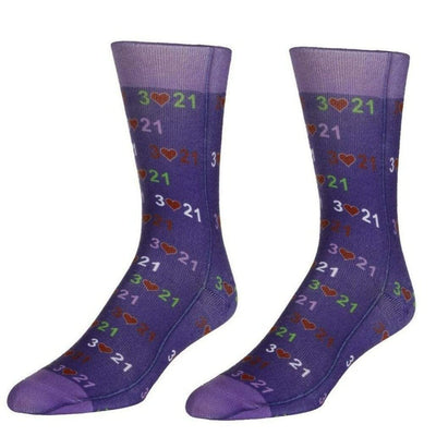 Down Syndrome Awareness Unisex Crew Socks