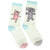 Elephant & Piggie Women's Crew Socks White