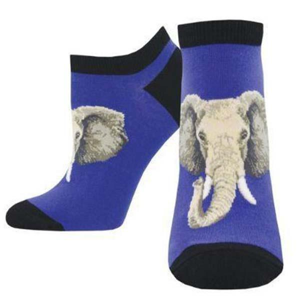 Elephant of Surprise Socks Women's No Show Sock