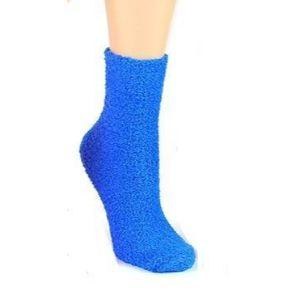 solid-color-fuzzy-socks-crew-socks-for-women