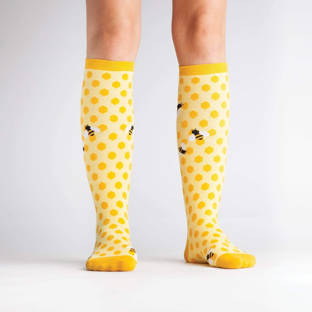 Bee's Knees Knee High Socks model