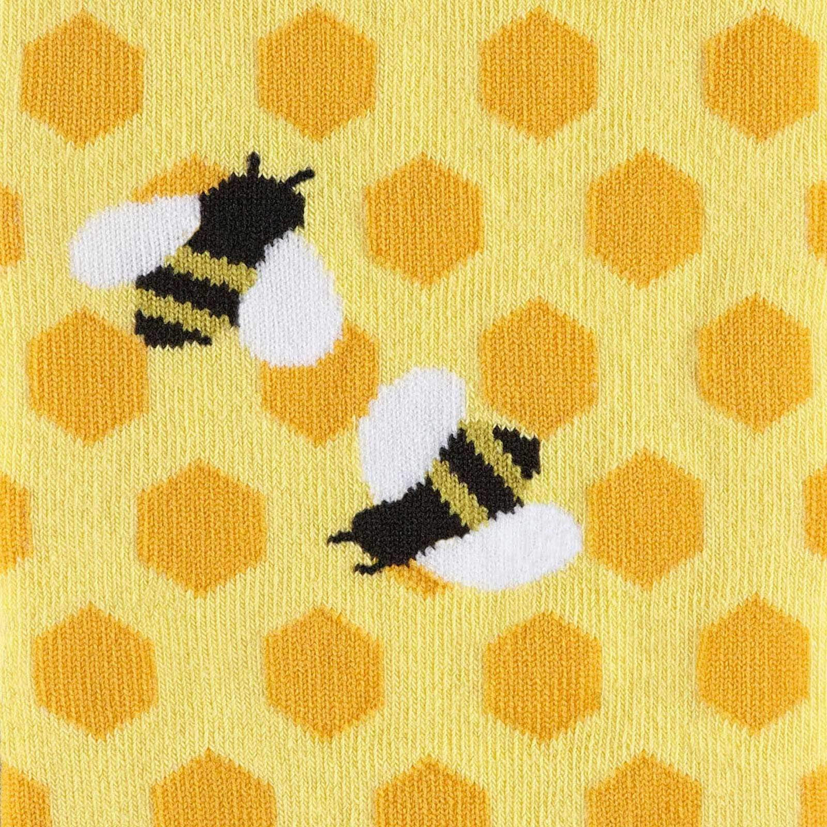 Bee's Knees Knee High Socks detail