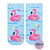 Flamingo Floats Glitter Ankle Socks