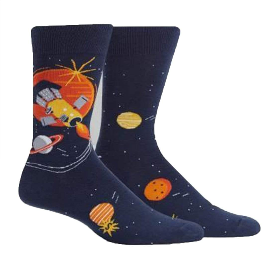 Fly Me To The Sun Socks Men's Crew Sock