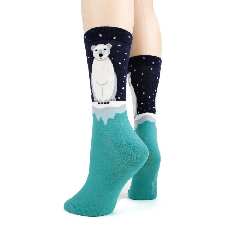 Polar Bear Socks - Crew Socks for Women
