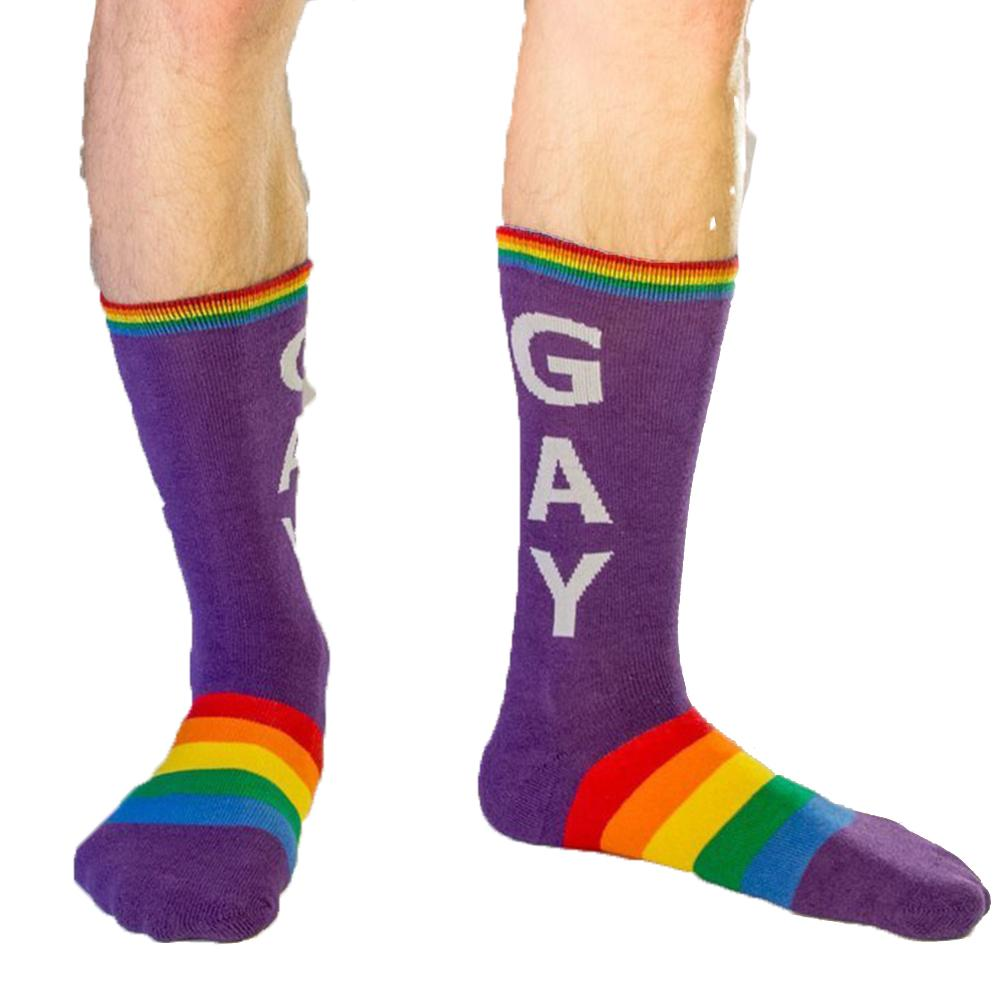 Gay Socks - Unisex Crew Socks