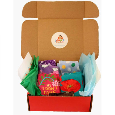 Gift Wrapping Gift Box (4 socks or more)