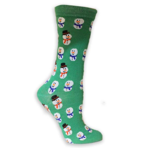 Holiday Snowmen Women's Holiday Sock
