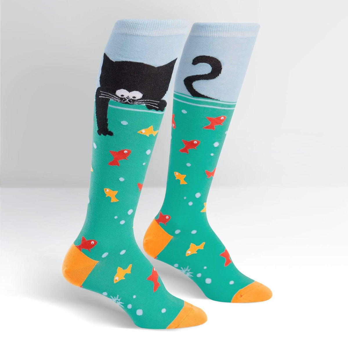 Gone Fishin' Socks - Knee High for Women