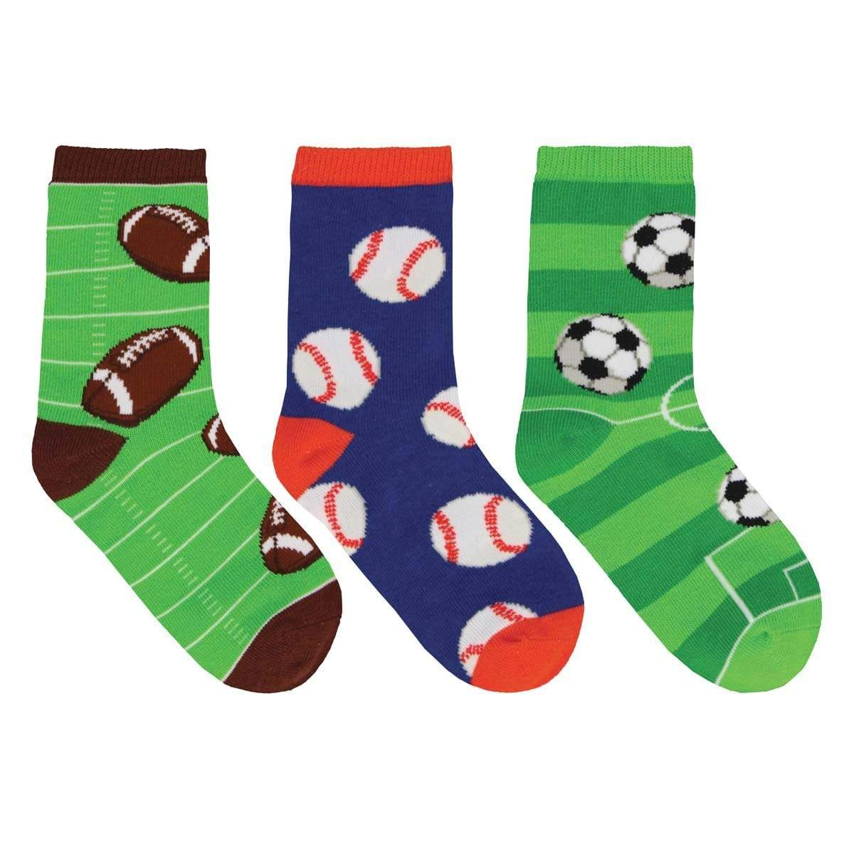 Good Sport Crew Sock 3 Pack 7-10