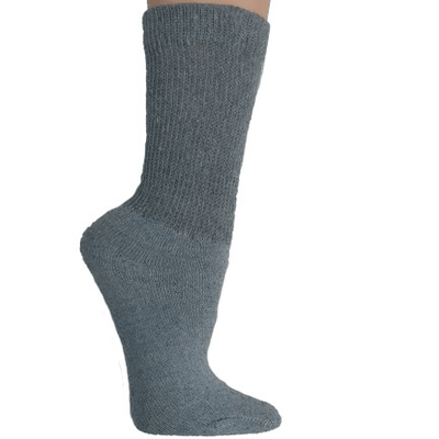 Diabetic Support Socks Grey
