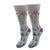 Group Therapy Socks Women's Crew Socks Grey