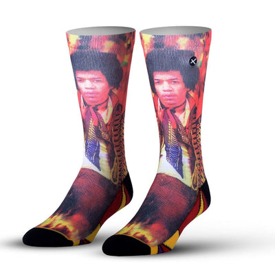 Guitar God Socks -- Front