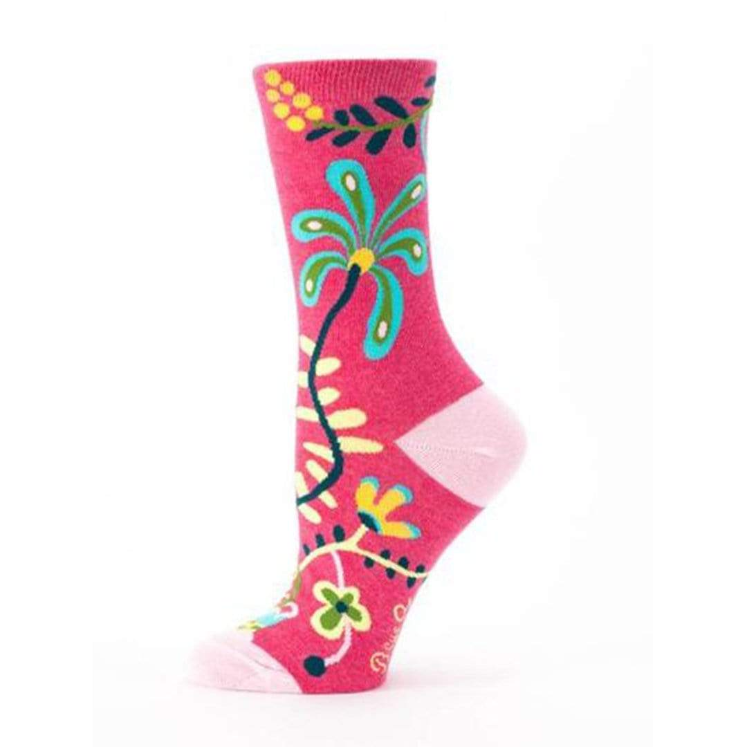 Hi, I Don't Care, Thanks Socks - Crew Socks for Women