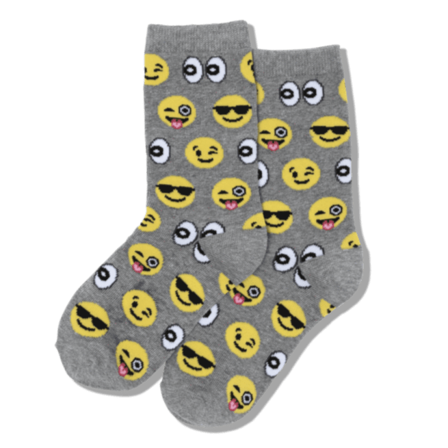 Emoji Children's Crew Sock