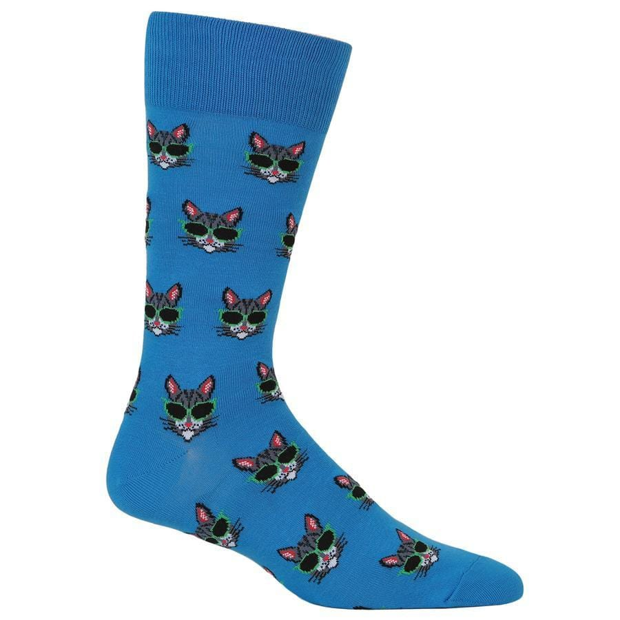 Cool Cat Socks - Men's Crew