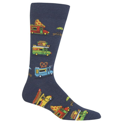 Food Trucks Crew Socks