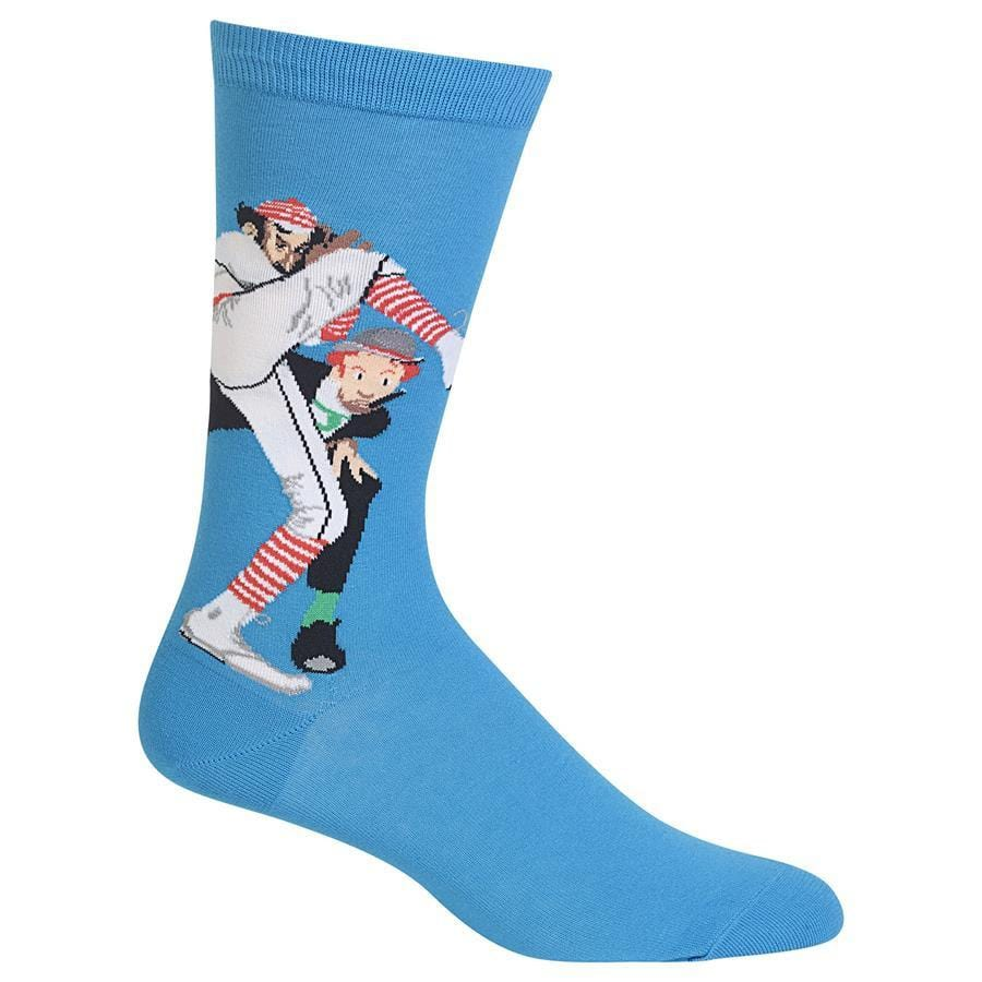 Norman Rockwell 100 Years of Baseball Sock - Men's Crew