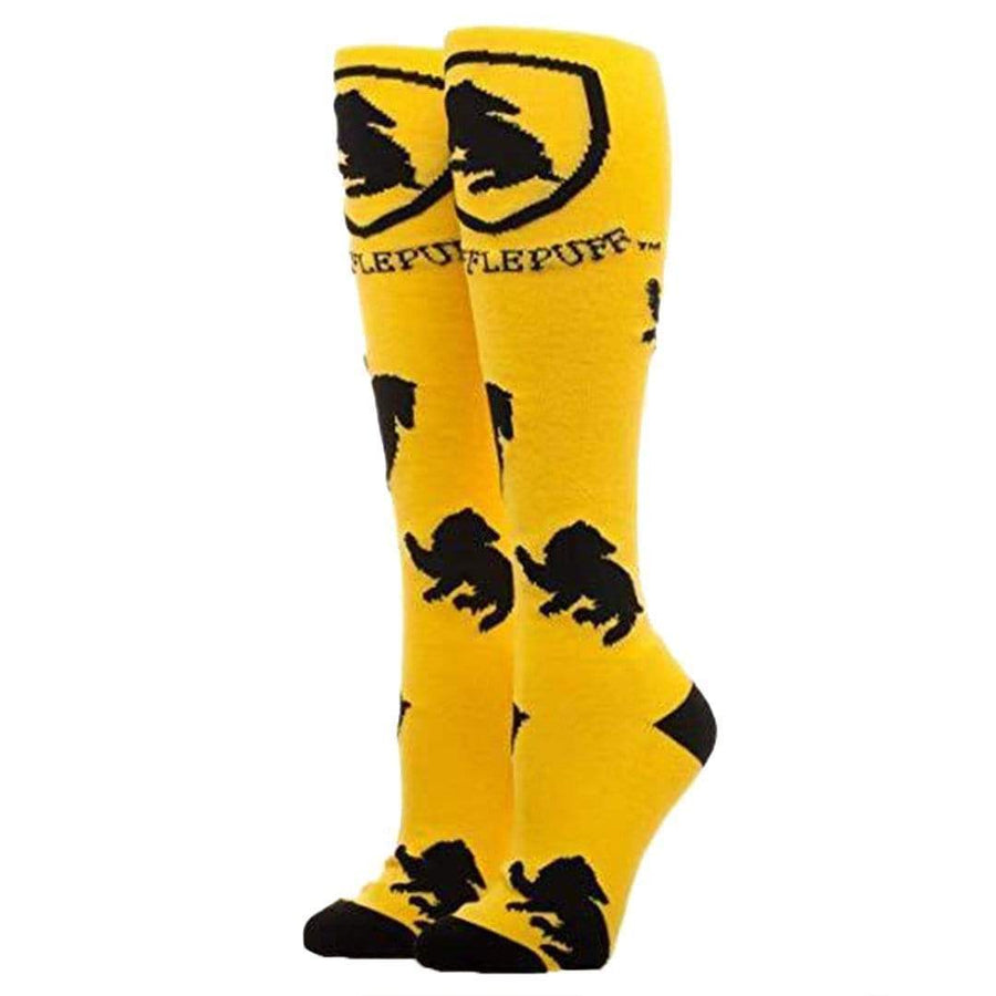 HUFFLEPUFF SOCKS HP WOMEN'S KNEE HIGH SOCK