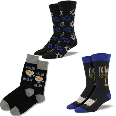 Hanukkah Bag of Socks for Men