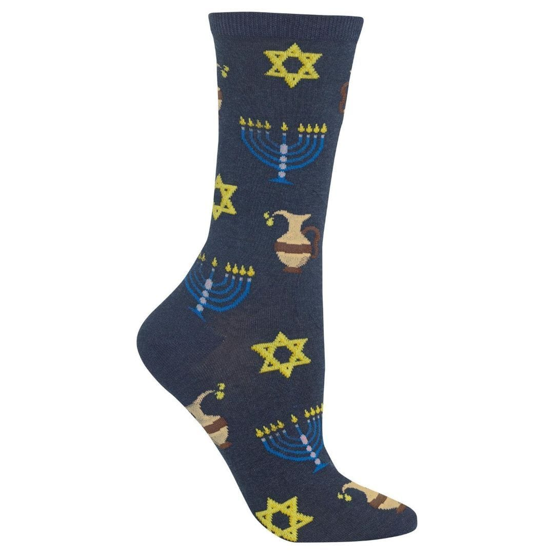 Hanukkah Socks Women's Crew Sock