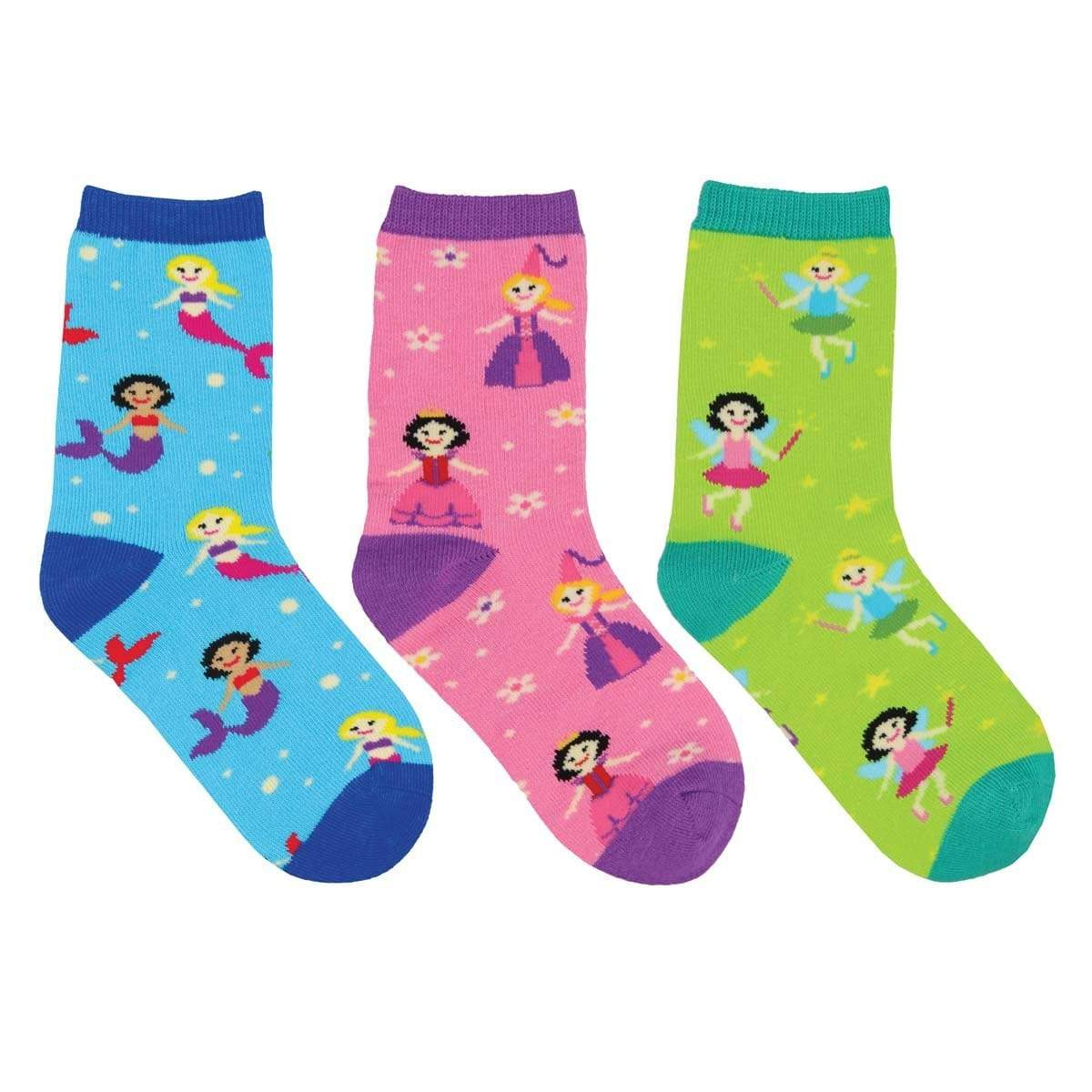 Happily Ever After Crew Sock 3 Pack