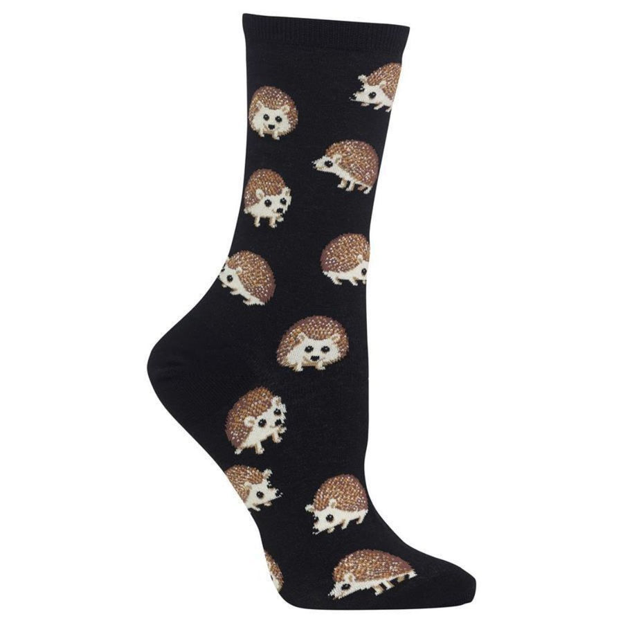hedgehog-socks-crew-socks-for-women-1