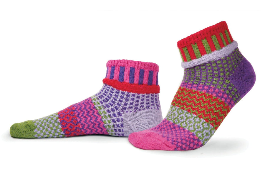 Hyacinth Cotton Ankle Socks