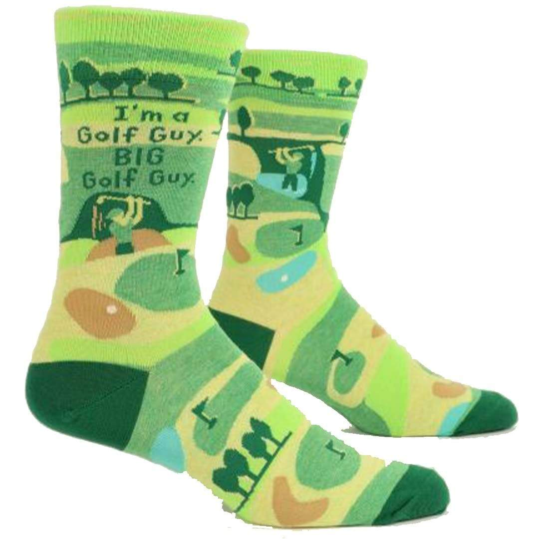 I'm A Golf Guy Men's Crew Sock Green