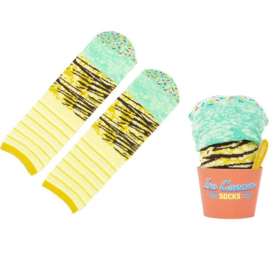 Ice Cream Socks Unisex Crew Sock Mint Chocolate