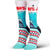 Jaws Teeth Women's Crew Sock Women's / Blue
