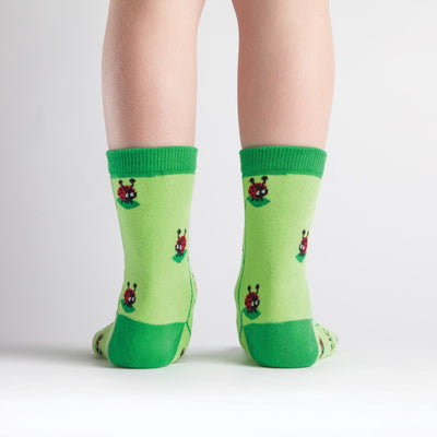Lady Bug Junior Crew Socks - Back