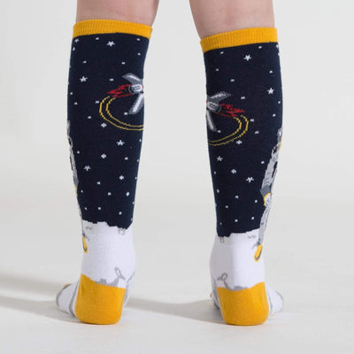 """One Small Step"" Junior Knee High Socks back"