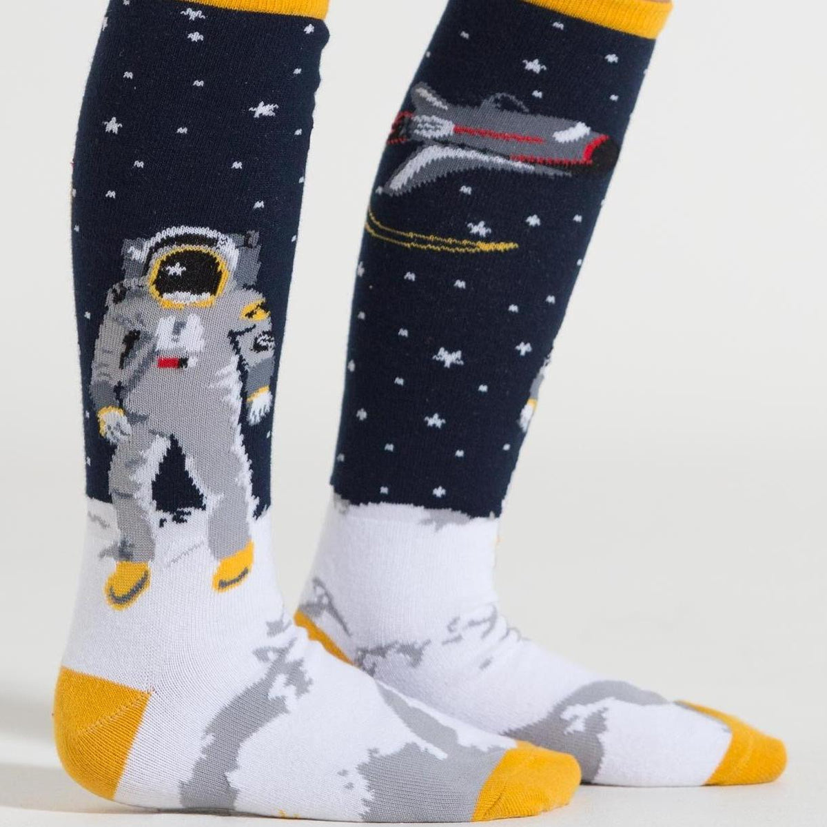 """One Small Step"" Junior Knee High Socks"