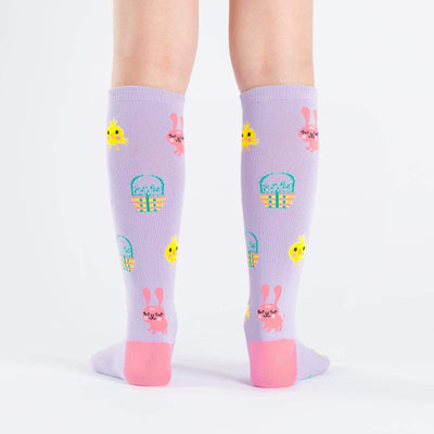 Hoppy Easter Youth Knee High back