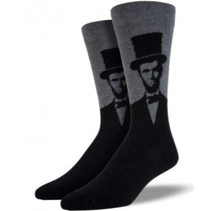 abraham-lincoln-crew-socks-for-men