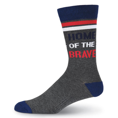 Land of the Free Socks - Crew Socks for Men