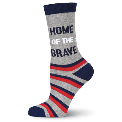 Land of the Free Socks - Crew Socks for Women