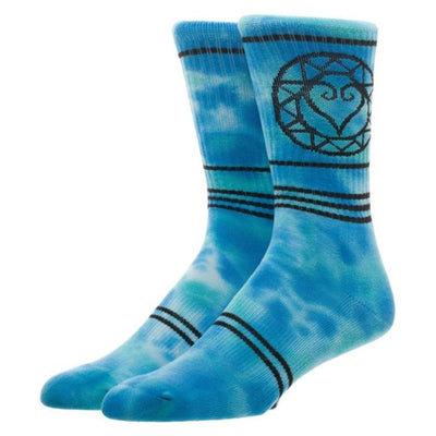 Kingdom Hearts Tie Dye Unisex Crew Socks