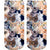 Kitty All Over Ankle Socks Brown